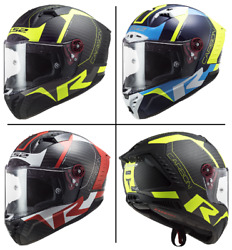 Ls2 Ff805 Thunder Carbon Racing 1 Full Face Sports And Riding Motorbike Helmet
