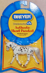 BREYER STABLEMATES * AUTHENTIC HAND PAINTED * KNABSTRUPPER * NEW *