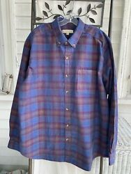 New In Package Territory Ahead Old Steamboatand039s Plaid Corduroy Shirt Size Xl