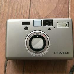 Contax T3 Single Teeth 35mm Silver Film Camera From Japan