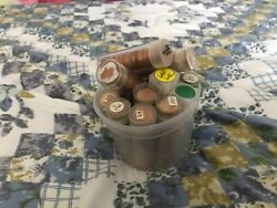 1964 P Lincoln Memorial Cent Penny Rolls 14 Rolls 700 Coins