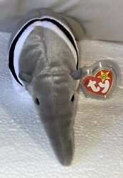 Beanie Baby Plush Doll Ty toy quot;Antsquot; the Anteater Date amp; punctuation errors. New