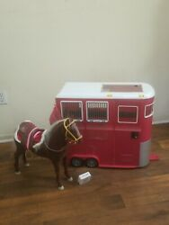 Og Our Generation Mane Attraction Horse And Trailer For 18 Dolls Some Wear