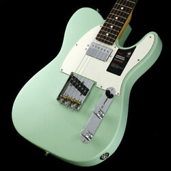 Fender American Performer Tl With Humbucking Rosewood Satin Surf Green
