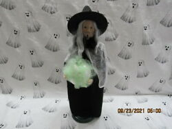Byers Choice 2021 Halloween Witch With Ball🎃🎃🎃🎃🎃new