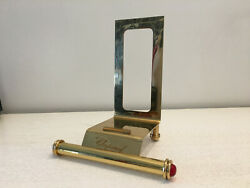 Used - Catalog Support Chopard Stand For Catalogues Golden Metal Gold Coloured