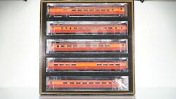 Mth Southern Pacific Daylight 5-car Passenger Set Ho Scale