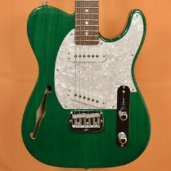 Gandl Custom Asat Special Semi-hollow / Clear Forest Green Used