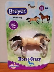 New 2020 BREYER Stablemates Horse Crazy Collection Mustang 1:32 Scale #97244