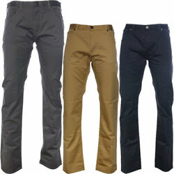 Mens Chino Trousers Armani Jeans 8n6j54 Casual Stretch Slim Straight Fit Pants