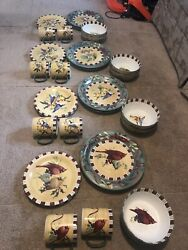 Lenox Winter Greetings Everyday Eight Place Settings /32pcs Free Shipping