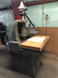 Herman Schwabe Model D Clicker Press Die Cutter Dual Handle Ideal For Leather