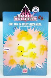 Burger King Small Soldiers Kids Club Toys Counter Display Sign 1998