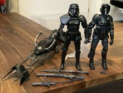 Star Wars Black Series Shadow Squadron 6-inch Set, Loose And Complete