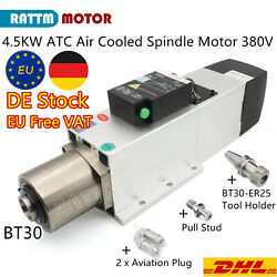 【ueandusa Free】4.5kw Bt30 Er25 Automatic Tool Change Air Cooled Spindle Motor 380v