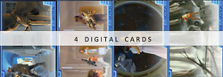 Topps Star Wars Card Trader 2021 Ralph Mcquarrie In Motion Wave 4 4 Cards