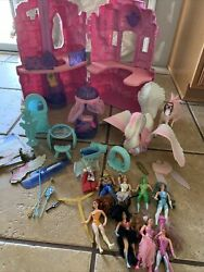 She-ra Crystal Castle Playset Princess Of Power And Figures Incomplete Flaws