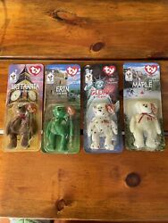 Ronald McDonald#x27;s Charity 1999 Ty Beanie Babies Collection. All 4 included