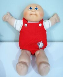 Vintage 1985 Cabbage Patch Kid Baby Doll Bald Preemie Boy Coleco