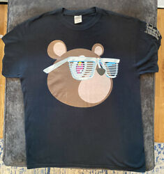 Murakami Kanye West Glow In The Dark Tour Shirt Adult Size L 2007