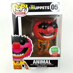 Funko Pop Animal Disney Muppets 2016 Flocked Limited 4000 Piece 05 Protector