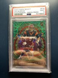 Psa 9 Joe Burrow Select Rookie Green Velocity Numbered Out Of 5🔥