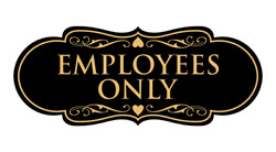 Designer Employees Only Sign $8.99