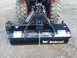 New Bobcat 60 Rotary Tiller For Compact Tractors 3 Pt Hitch 540 Ptofits Many