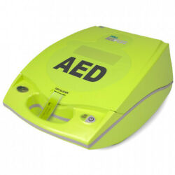 Zoll Aed Plus Fully Automatic W/prescription Cpr D Padz 10 Cr123a Batteries