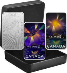 2021 Ufo Montreal Incident Unexplained Phenomena 20 Silver Proof Glow-dark Coin