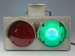 Vintage Lashmar Erie Pa Railroad Train Track Switching Light Working And Rare