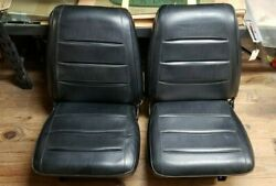 1968 Mopar Dodge Charger Low Back Bucket Front And Rear Bench Seats B-body