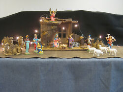 Heirloom Fontanini Nativity Set - 20 Pc Incl. Stable, 5 Inch Figurines