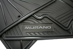 Floor Mats For Nissan Murano Oem Genuine - All Weather 2015-2021