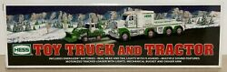 Hess Toy Truck And Tractor 2013 With Lights And Sound New In Box
