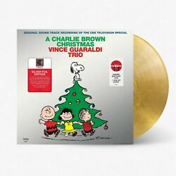 Vince Guaraldi Trio A Charlie Brown Christmas Exclusive Gold Swirl Vinyl New