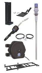 Graco 24h870 Preset Rigid 51 Oil Tote Mount Package With Ld 1/2 X 35and039 Reel