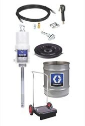 Graco 240883 Fire-ball 300 Series 501 35 To 50 Lb. Grease Pump - Cart-mounted