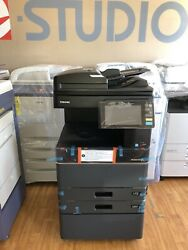 Toshiba E-studio 3508a - B/w Print-copy-scan-fax Low Meter/finisher Included