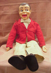 Vintage 1960and039s Paul Winchelland039s Jerry Mahoney 24 Ventriloquist Dummy Brown Hair