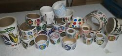 Vintage Stickers Lot, Huge Assorted,new To Old,1980s To ,sandylion,sniff,rolls