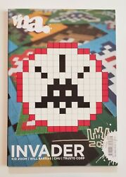 Signed - Space Invader 16 Limited Edition Vna Magazine Screenprint Signed Rare