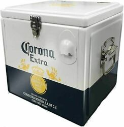New Collectable Corona Extra Cool Box Cooler Aluminium Carrier Bottle Opener