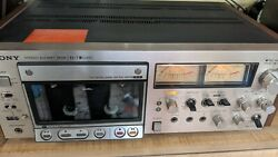 Refurbished Sony El-7 Elcaset Tape Deck With Remote/service Manual + 2tapes