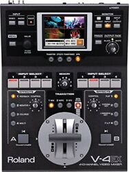 New Roland V-4ex Four Channel Digital Video Mixer Effects Touch Control F/S