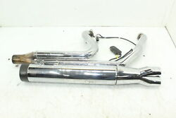 03-06 Harley-davidson Electra Glide Full Sands 2 Into 1 Exhaust With Powr Pro Fuel