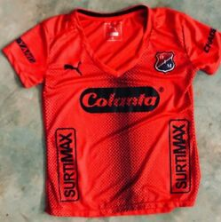 Team Independente Medellin Official Soccer Jersey Size L Womens Home 2019