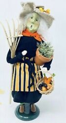 Byers' Choice 2021 Limited Edition Gardening Witch.