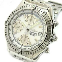 Breitling Chronomat A13352/a147a31pa Date Automatic Men's Watch W/ Box Ex++