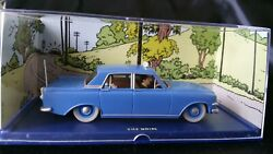 Rare Mint Atlas Editions Herges Tin Tin Ford Zephyr Mk Iii L'ile Noire